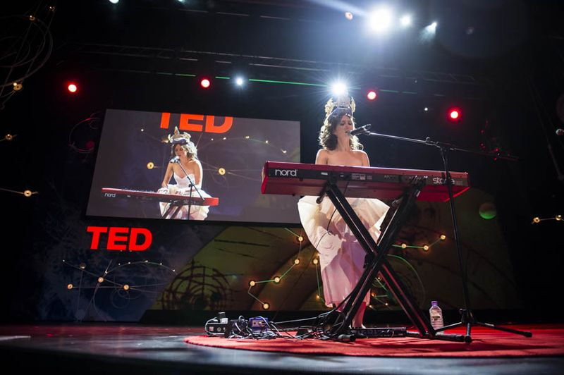 Elizaveta at TED