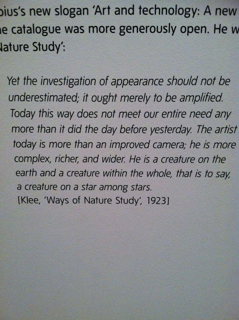 Klee said